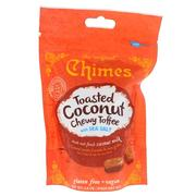 [iHerb] Chimes, Toasted Coconut Chewy Toffee with Sea Salt, 2.8 oz (80 g)