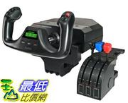 [美國直購 ShopUSA] 賽鈦客 Saitek Pro Flight Yoke with Three-Lever Throttle (PZ44)