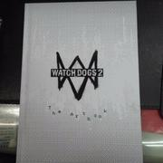 PS4 看門狗2 watch dogs 2 藝術圖鑑畫冊