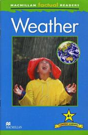 Macmillan Factual Readers Level 4+: Weather - 進階(預購)