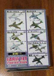 1/144 F-toys EARLY JET COLLECTION 01a 蘇俄空軍銀色塗裝 235號機