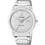 CITIZEN Eco-Drive時尚都會錶銀AW1210-58A