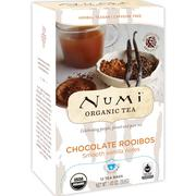 [iHerb] Numi Tea, Organic Tea, Herbal Teasan, Chocolate Rooibos, 12 Tea Bags, 1.40 oz (39.6 g)