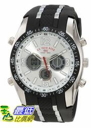 [美國直購 USAShop] U.S. Polo Assn. Sport Men's US9061 Black Rubber Strap 手錶 $1123