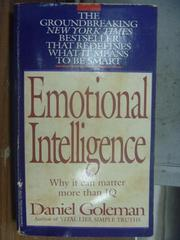 【書寶二手書T4/原文小說_MPH】Emotional intelligence_Daniel goleman