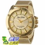 [104美國直購] Marc Ecko Men's E18597G1 The Flash Gold Mesh Gold Dial Watch
