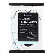 [iHerb] Nu-Pore, Charcoal Facial Wipes, 18 Pre-Moistened Towelettes