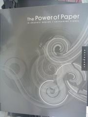 【書寶二手書T3/設計_WFO】The power of paper in graphic design