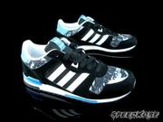 ☆speedkobe☆ADIDAS ORIGINALS ZX 700 K 黑藍 灰麻花  大童鞋 女 M17017
