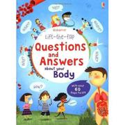 英國 Usborne Lift-the-Flap Questions and Answers about your body 身體問與答 *db小舖*
