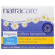[iHerb] Natracare, Organic Cotton Tampons, Super, 10 Tampons