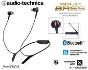 志達電子 ATH-CKS990BT audio-technica 日本鐵三角 藍芽/藍牙 無線 SOLID BASS 耳道式耳機