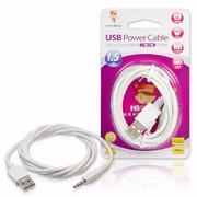 MAGIC USB A公轉3.5mm音源充電線-1.5米(CBH-UAM35M-015W)