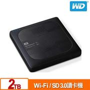 WD My Passport Wireless Pro 2TB 2.5吋 Wi-Fi 行動硬碟