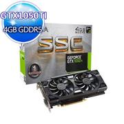 【EVGA艾維克】 GTX 1050 Ti 4GB SSC GAMING(04G-P4-6255-KR)顯示卡