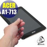 【EZstick】ACER Iconia A1-713 專用 靜電式平板LCD液晶螢幕貼 (高清霧面)