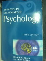 【書寶二手書T6/心理_HRG】The Penguin Dictionary of Psychology_Reber