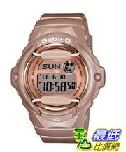 [103 美國直購 ShopUSA] Casio Women's BG169G-4 Baby G Pink Champaign Watch 凱西歐手錶
