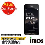 【iMOS  Touch Stream】華碩 ASUS Zenfone 5 電競 霧面  疏油疏水 螢幕保護貼