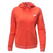 (女)The North Face LOGO兜帽外套橘NF00CL0CCA1-