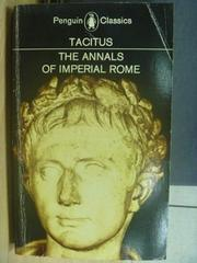 【書寶二手書T6/藝術_MFG】The Annals of imperial rome_Tacitus