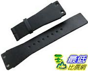 [104美國直購] 男錶 黑色皮革錶帶 Original CALVIN KLEIN Black Leather Watch Strap Band 25mm Men's New