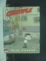 【書寶二手書T8/漫畫書_OHW】Crumple: The Status of Knuckle_Dave Cooper