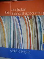 【書寶二手書T7/大學商學_ZDP】Australian Financial Accounting