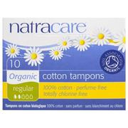 [iHerb] Natracare, Organic Cotton Tampons, Regular, 10 Tampons