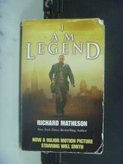 【書寶二手書T9/一般小說_GCC】I Am Legend_Matheson, Richard