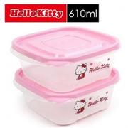 樂扣樂扣 Hello Kitty EZ Lock保鮮盒 610ml (二入組) LKT809