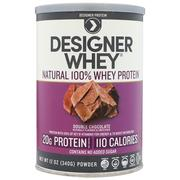 [iHerb] Designer Protein, Designer Whey, Natural 100% Whey Protein, Double Chocolate, 12 oz (340 g)