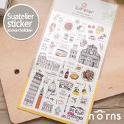 NORNS 【Suatelier sticker(roman holiday)】貼紙 手帳 行事曆