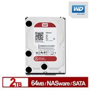 ◆快速到貨◆WD 威騰 紅標 2TB 3.5吋 NAS 專用硬碟 (WD20EFRX)