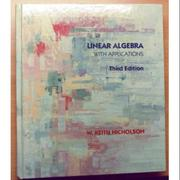 Linear Algebra With Applications Third Edition - Nicholson
