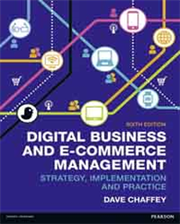 DIGITAL BUSINESS AND E-COMMERCE MANAGEMENT 6/E