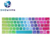 【SHOWHAN】Apple MacBook Pro Touch Bar 13吋英文鍵盤膜 彩色