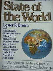 【書寶二手書T3/原文書_QMF】State of the World 1993_Brown,etc