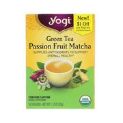[iHerb] Yogi Tea, Green Tea, Passion Fruit Matcha, 16 Tea Bags, 1.12 oz (32 g)