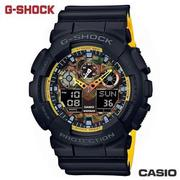 "CASIO GA-100BY-1A《G-SHOCK ""BIG G""》叢林迷彩系列/黑x黃"