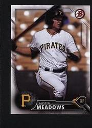 2016 Bowman Draft BD-121 Austin Meadows  匹茲堡海盜隊