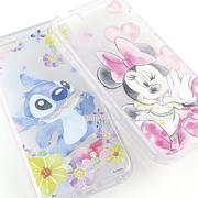Disney iPhone SE/i5/i5s 可愛透明保護軟套-水彩風-手機平板配件-myfone購物
