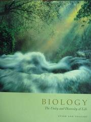 【書寶二手書T6/大學理工醫_PLZ】Biology-The Unity and Diversity of Life_S
