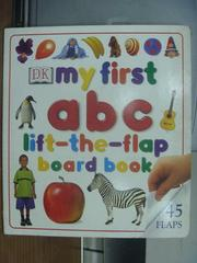 【書寶二手書T2/語言學習_PHE】My first abc_lift the flap board book