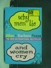 【書寶二手書T5/兩性關係_HNU】Why Men Lie and Women Cry