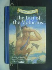 【書寶二手書T4/原文小說_OIU】The Last of the Mohicans_James
