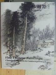 【書寶二手書T6/收藏_ZHT】Bonhams_Fine Chinese Paintings:Classical,Mod