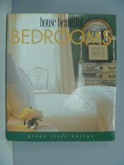 【書寶二手書T2/設計_ZDT】House beautiful bedrooms_Cara Greenberg