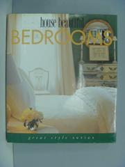 【書寶二手書T4/設計_ZDT】House beautiful bedrooms_Cara Greenberg