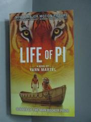 【書寶二手書T1/原文小說_OIY】Life of Pi Film Tie in_Yann Martel